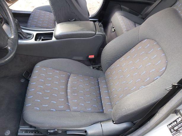 komplet foteli wnętrze środek airbag mercedes c 230 kompressor w 203cl