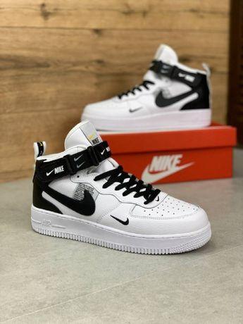 Кроссовки Nike Air Force 1 White !Весна-Осень-Лето! Топ Качество!