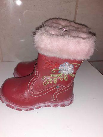 Buty zimowe ocieplane rozmiar 24