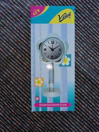 Relógio despertador Flor