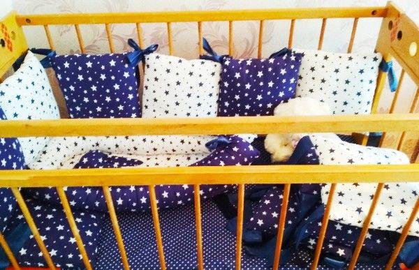 кроватка, защита на кроватку