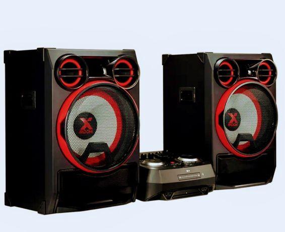 XBOOM Hi-fi de 5000W, ligações wireless e iluminação multicolor ck99
