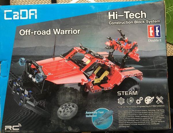 Jeep Off Road Warrior - duży zestaw klocków zdalnie sterowanych