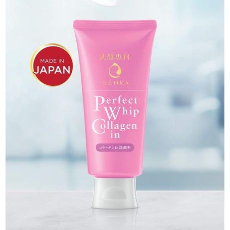 Пенка пена для умывания коллаген Shiseido гиалуроновая кислота Япония