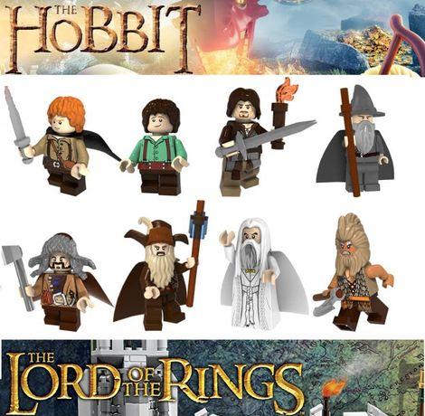 Bonecos minifiguras Hobbit / Senhor dos Anéis nº8(compativel com Lego)