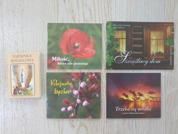 Tajemnice różańcowe Jan Paweł II Rafał Kalinowski seria perełki