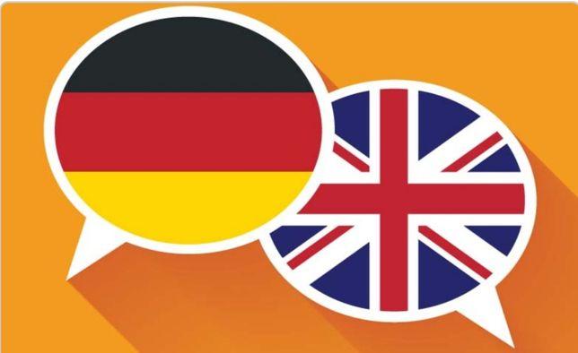 Explicações Inglês e Alemão