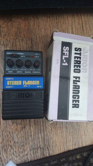 Arion stereo flanger. Świetny analogowy efekt