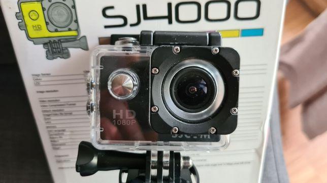Kamera sportowa Sjcam SJ4000, zestaw