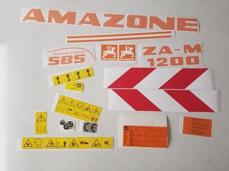 Naklejki rozsiewacz Amazone ZA-M1000 ZA-M 1200