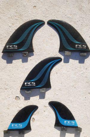 Quilhas FCS TC Aqualine