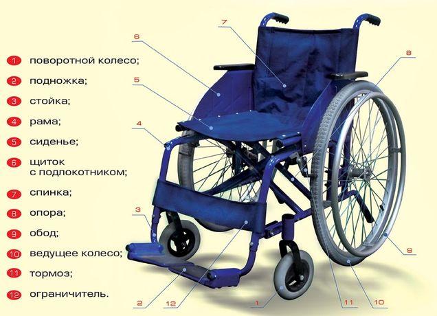 Кресло - коляска модель 128