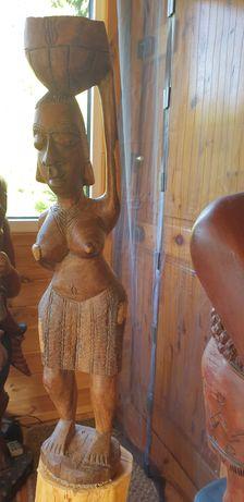 rzeżba figura afrykańska ok 3,5kg 77cm