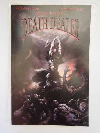 Death Dealer comics - Editora Verotik (Danzig, Frazetta)