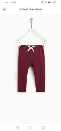 Spodnie legginsy Zara 98 nowe