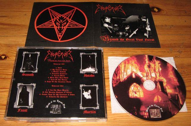 EMPEROR Beyond The Great Vast Forest CD 1 WYD LTD Burzum Mayhem Taake