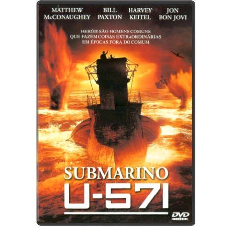 DVD - Submarino U571 - FILME