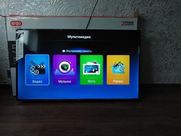 """Телевизор 4К  Еrgo 50"""" Smart TV. 4k. Состояние нового!"""