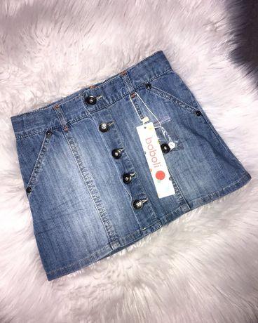 Новая джинсовая юбка Boboli на девочку 4 года,104 см
