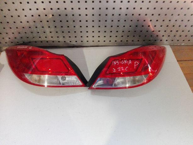 Lampa Lewa Tył Tylna Opel Insignia A HB Oryginał