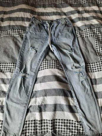 Spodnie jasny jeans