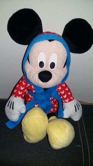 Maskotka  myszka mickey  40 cm w szlafroku