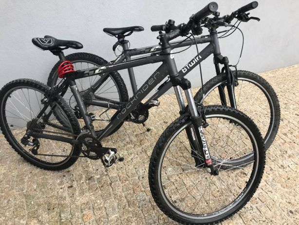 2 Rockrider Bicycles *One XL & One M* €150 for both! Mountain Bikes