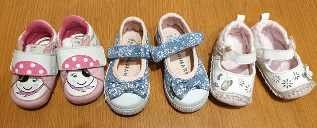 buty, kapcie dziecięce rozmiar 20