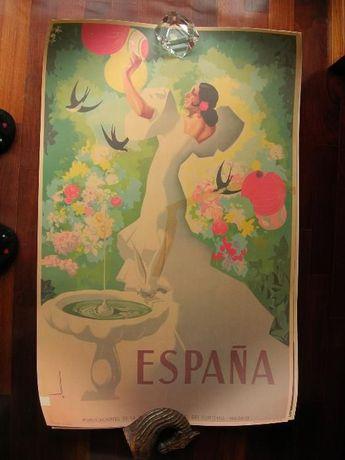 Cartazes do Turismo de Espanha (90x57cm)