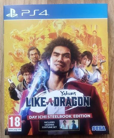 Yakuza Like A Dragon / PS4 / Day Ichi Edition Steelbook
