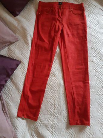 Spodnie w kolorze koralowym