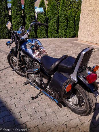 Honda Shadow VT700 oryginalne sakwy Shadow oryginalne 40tys km vt750