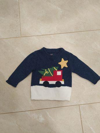 Новогодний свитер next кофта новый год