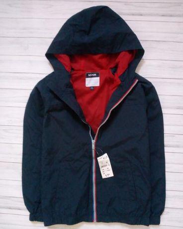 Ветровка легкая куртка на мальчика 12 лет