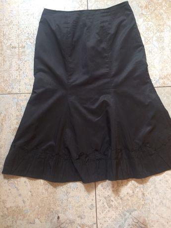 Monnari elegancka spódnica, czarna, 46 wizytowa
