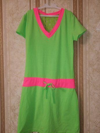 Неоновые платье. Новое
