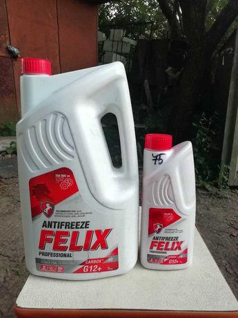 Антифриз Helix G12+ красный 6 кг(5+1)