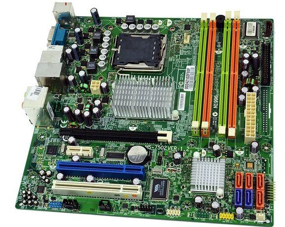 PŁYTA GŁÓWNA msi ms-7502 quad core2 duo DDR2 s.775