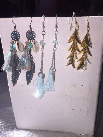 Kolczyki - biżuteria sztuczna