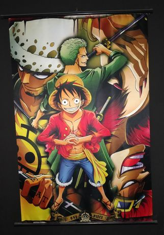 Luffy Wallscroll One Piece Anime Onepiece wall scroll