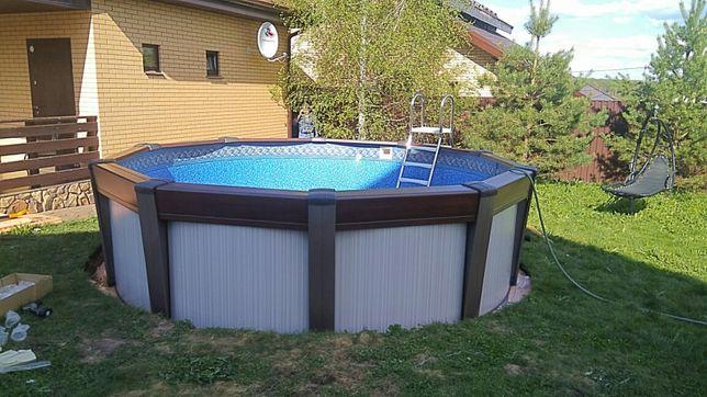 Бассейны  установка сборка. Все типы бассейнов.