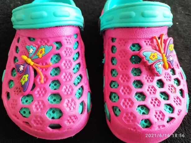 Crocsy buciki dla dziewczynki 23-25