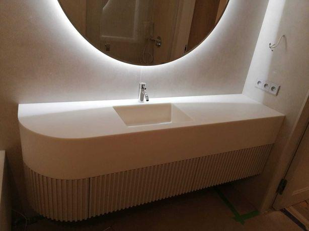 Firma ADARTT umywalki zlewozmywaki różne kolory, montaż