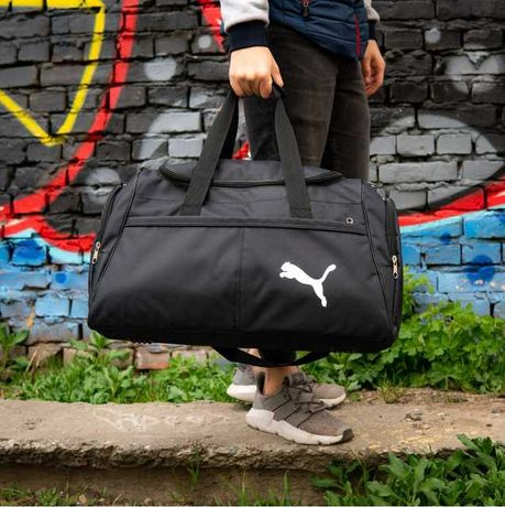 Большая мужская спортивная сумка рюкзак Puma дорожная пума 40