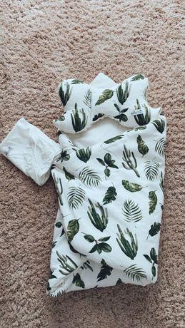 Rożek niemowlęcy i poduszka-motylek Marsille Decor