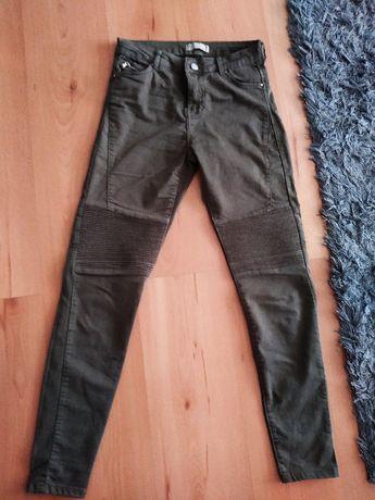 Spodnie damskie Bershka 36 Khaki