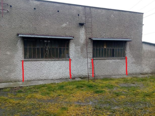 Okna warsztatowe 124 x 243