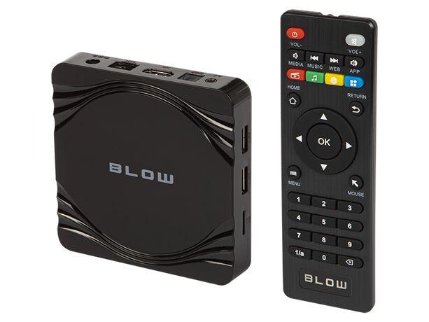 NOWY Android TV Box SMART TV UltraHD v2 Bluetooth WiFi zegarek NETFLIX