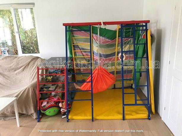 Игровая площадка, качели, горка, мат, детский спортивный комплекс