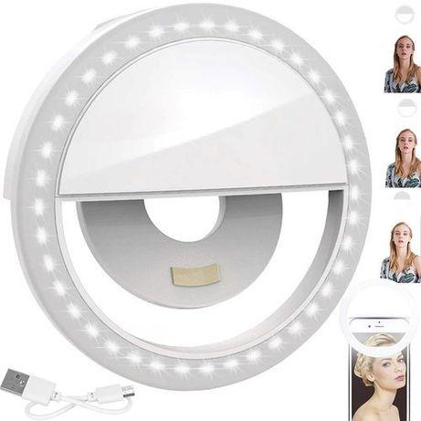 Anel de luz led para selfie Ring Light Novos em caixa